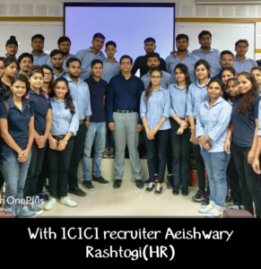 Guest Lecture by Aishwarya Rastogi (ICICI Prudential) @ HIMCS @ Hindustan Inssitute of Management &Computer Studies