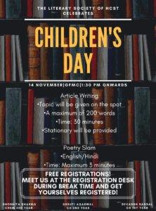 Children's Day @ Hindustan Campus