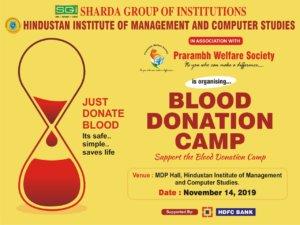 Blood Donation Camp @ Hindustan Campus